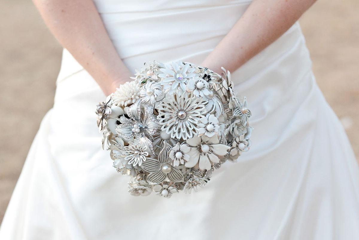 Серебряная свадьба сделать букеты